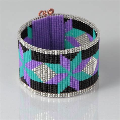 beaded loom bracelets american style dakota bead loom bracelet