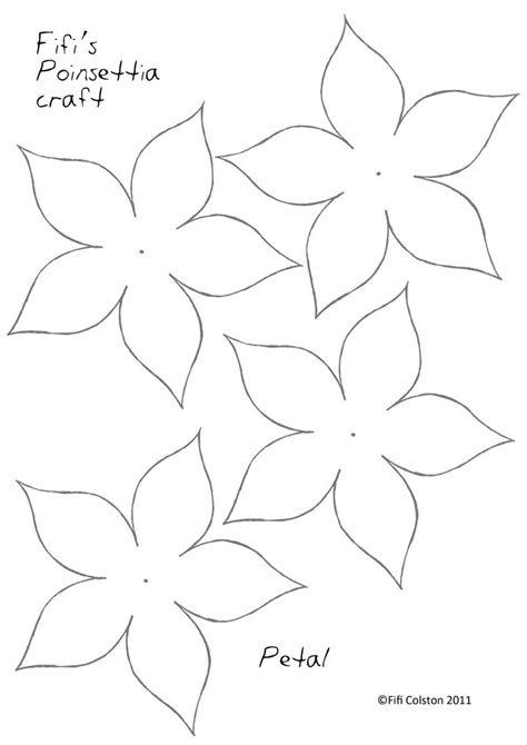 flower paper craft template 25 best ideas about flower template on paper