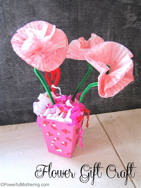 gift crafts for flower gift craft