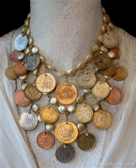 how to make jewelry out of coins best 25 coin necklace ideas on gold coin