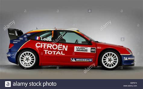 Citroen Rally Car by 2005 Citroen Xsara Wrc Rally Car Stock Photo 19543752 Alamy