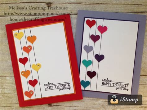 simple card for quot sending happy thoughts quot s crafting treehouse