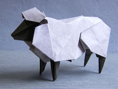 origami sheep hideo komatsu website update origami tessellations