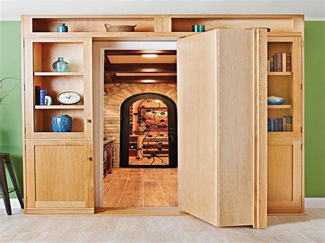 bookcase plans with doors bookcase door build your own secret door
