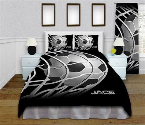 soccer bed sets boys soccer duvet cover soccer bedding by