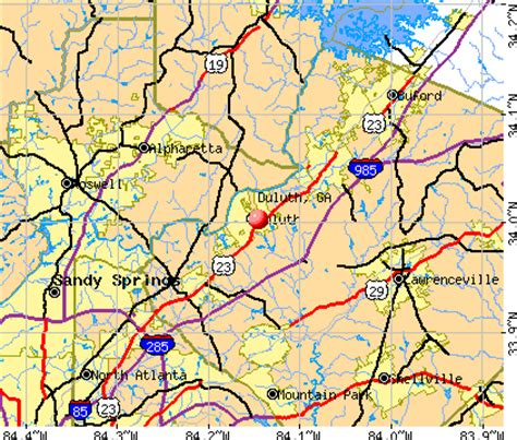 duluth ga duluth ga profile population maps real