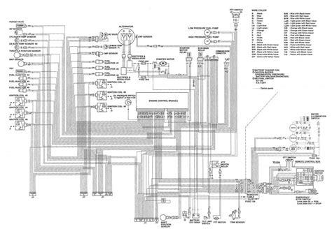Suzuki 200 Outboard by Suzuki 200 Outboard Wiring Diagram Suzuki Auto Parts