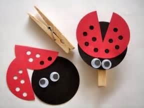 ladybug craft for ladybug craft school