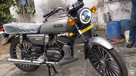 Modified Bike Registration by The Yamaha Rx100 Modified With Temp