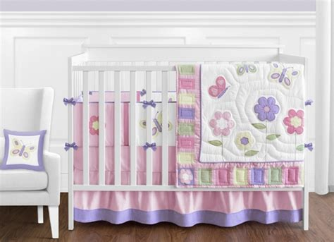 purple butterfly bedding pink and purple butterfly baby bedding 9pc crib set only
