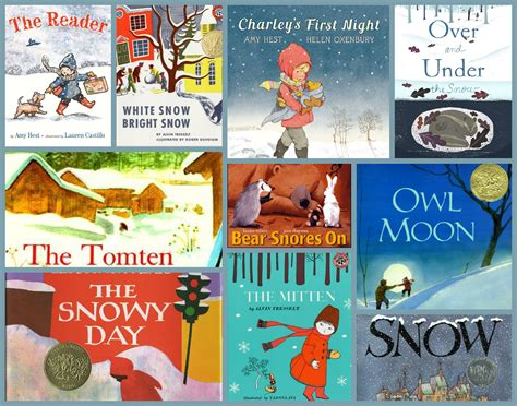 winter picture books ten favorite winter books am 233 lie s bookshelf