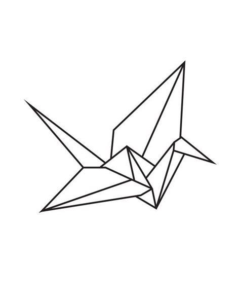 origami crane printable best 25 paper crane ideas on