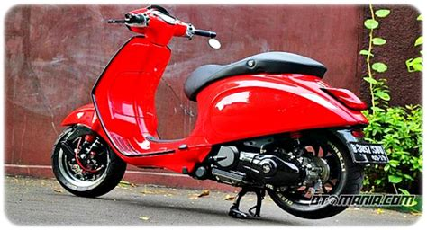 Modifikasi Vespa Excel Retro by Modifikasi Vespa Racing Look Anti Mainstream Dengan Vespa