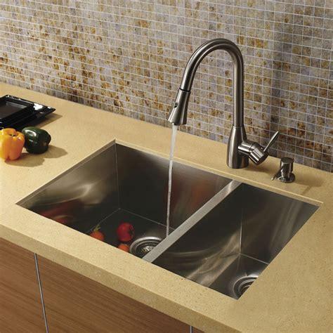 kitchen sink modern vigo undermount stainless steel kitchen sink faucet and