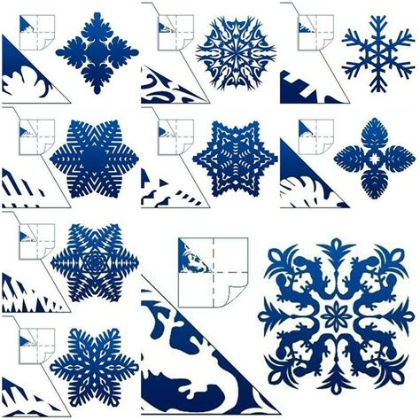 paper craft snowflakes diy paper snowflake projects 2dand3d to beautify