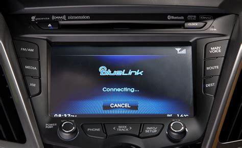 Bluelink Hyundai by Hyundai Blue Link Subscriptions To Start At 79 A Year