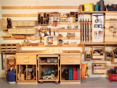 woodworking tool shop build wooden small woodworking shop organization plans