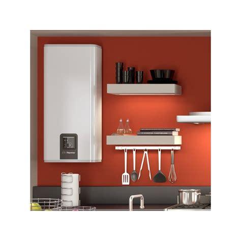 chauffe eau malicio 80 l plat mural multiposition 2250w 1300x490x290mm thermor