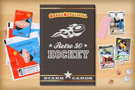 make a hockey card retro 50 series custom hockey cards cards