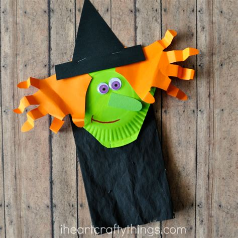 paper bag craft for paper bag witch craft for i crafty