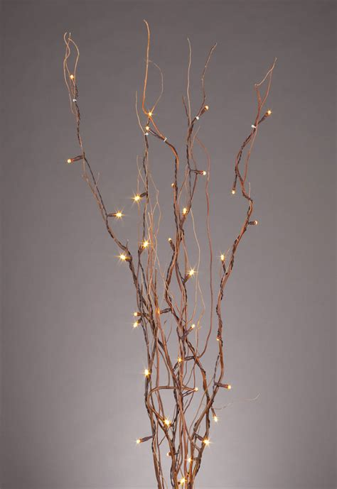 lit willow branches led lighted branches oogalights more than 1 000