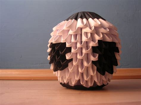 3d origami football 3d origami football by ketike on deviantart