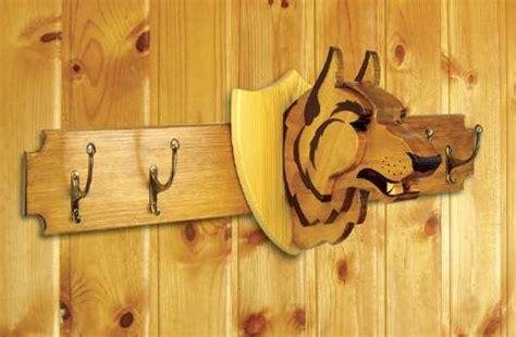 trophy woodworking plans 19 w3710 wolf trophy coat rack woodworking plan