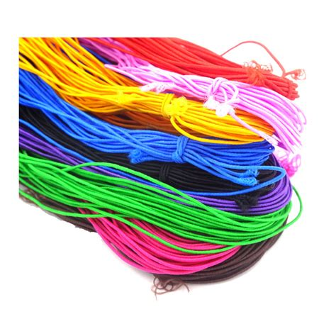 beading with stretch cord 1mm elastic cord beading thread 120meters 12 meter