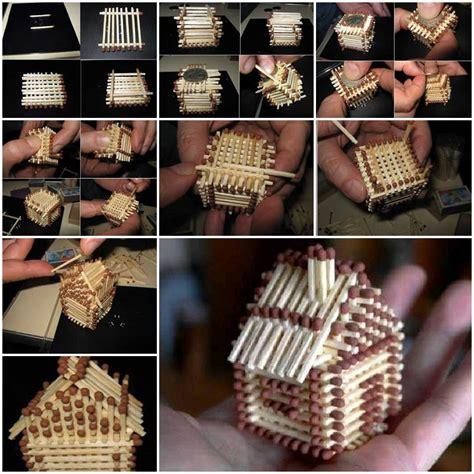 unique crafts diy unique crafts of matches
