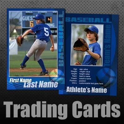 make your own baseball card free trading card template free images