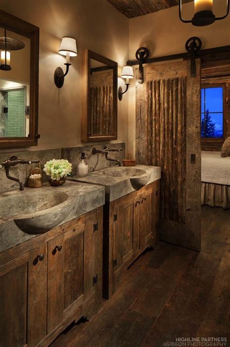 cabin bathroom designs 31 best rustic bathroom design and decor ideas for 2017