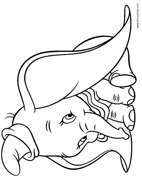 picture of coloring book dumbo coloring pages disney coloring book