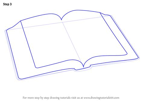 drawing book pictures learn how to draw an open book everyday objects step by