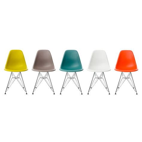 Eams Chair by Eames Plastic Side Chair Dsr Vitra