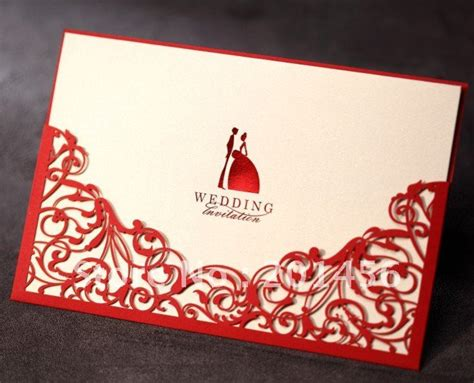 card supplies free delivery invitation card wedding invitation cw1011 include envelope