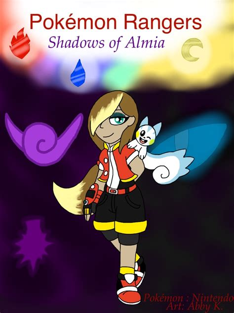 rangers shadows of almia cover by shinysmeargle on deviantart