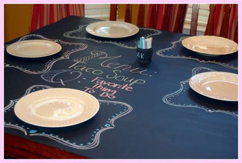 chalkboard paint table chalkboard paint the well crafted home