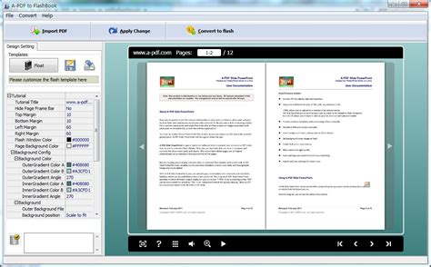 picture book software free a pdf to flashbook by a pdf v 3 1