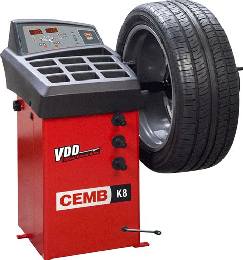 tire balancing cemb k8 digital wheel balancer nhproequip
