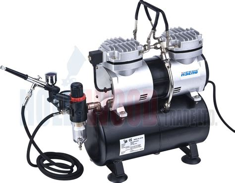 with airbrush mini airbrush compressor with tank as196 kit ebay