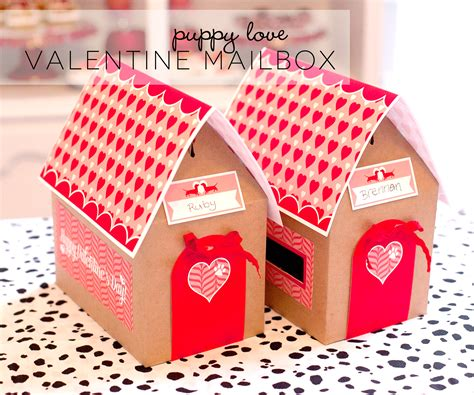 decoupage shoebox free printable mailbox project nursery