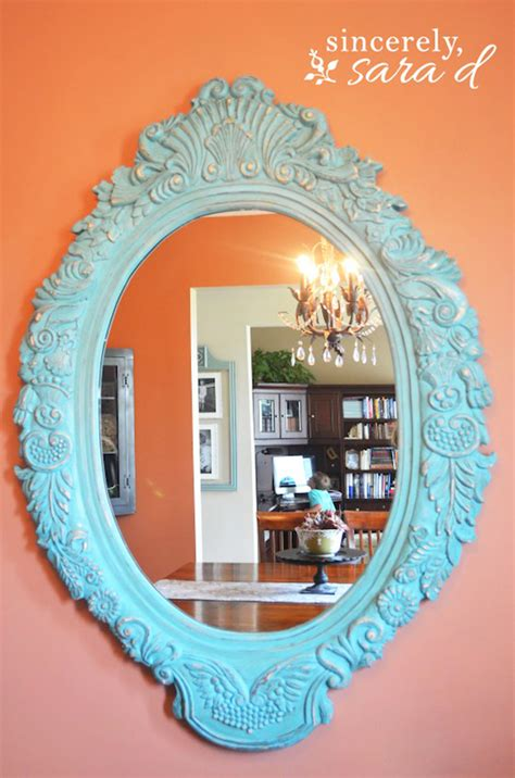 diy chalk paint mirror 15 shabby chic bathroom ideas transforming your space from