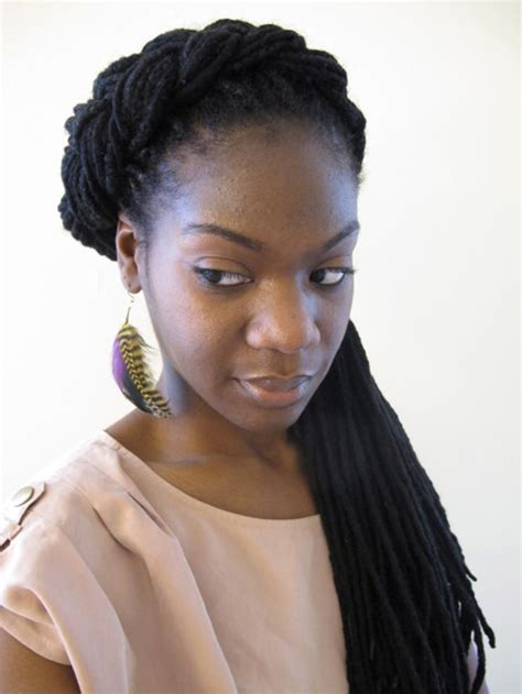braid styles with curly twisted and partial braided hairstyles for black