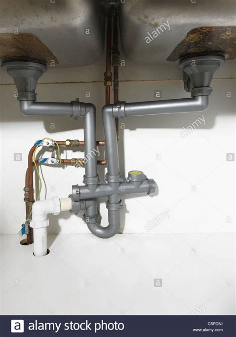 kitchen sink fittings waste pipe and fittings a kitchen sink and
