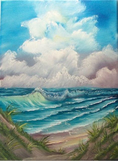 bob ross seascape paintings bob ross class paintings