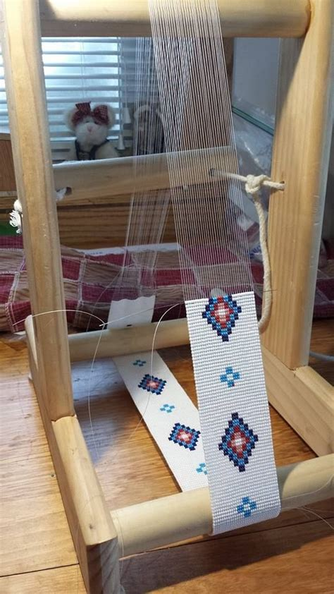 how to make a beading loom 25 best ideas about bead loom patterns on