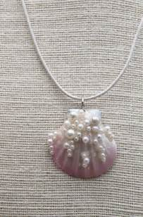 how to make seashell jewelry best 25 seashell necklace ideas on shell