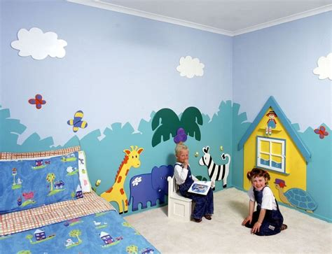 children wall murals wall painting for bedroom interior designing ideas