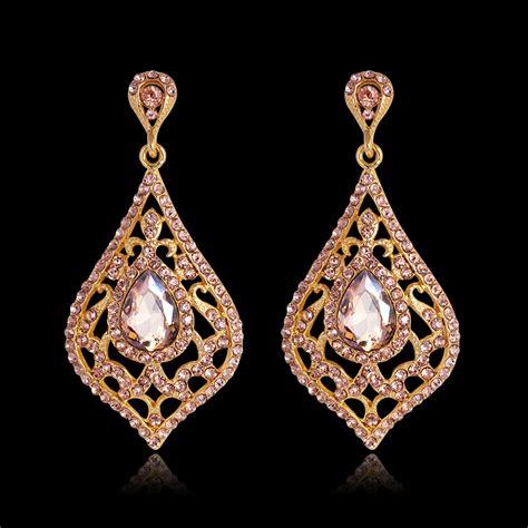 jewelry earrings fashion jewelry vintage drop earrings gold