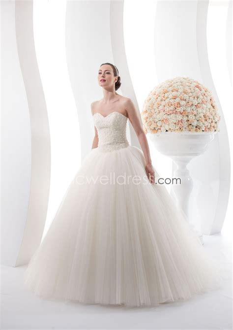 beadwork on neckline top gown wedding with sweetheart neckline